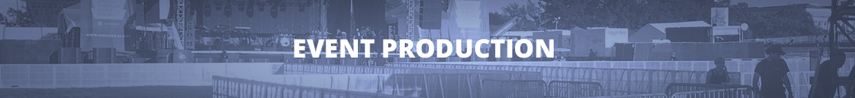 Event Production Banner Image
