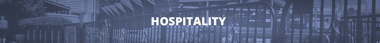 Traffic and Crowd Control Rental Supplies for Hospitality Industry Businesses