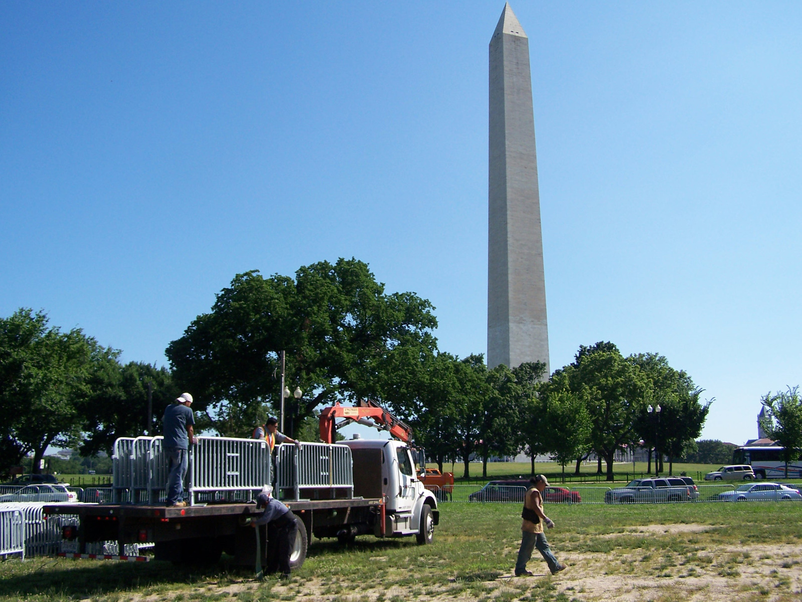 SONCO's Professional Installers Preparing for an Event in DC