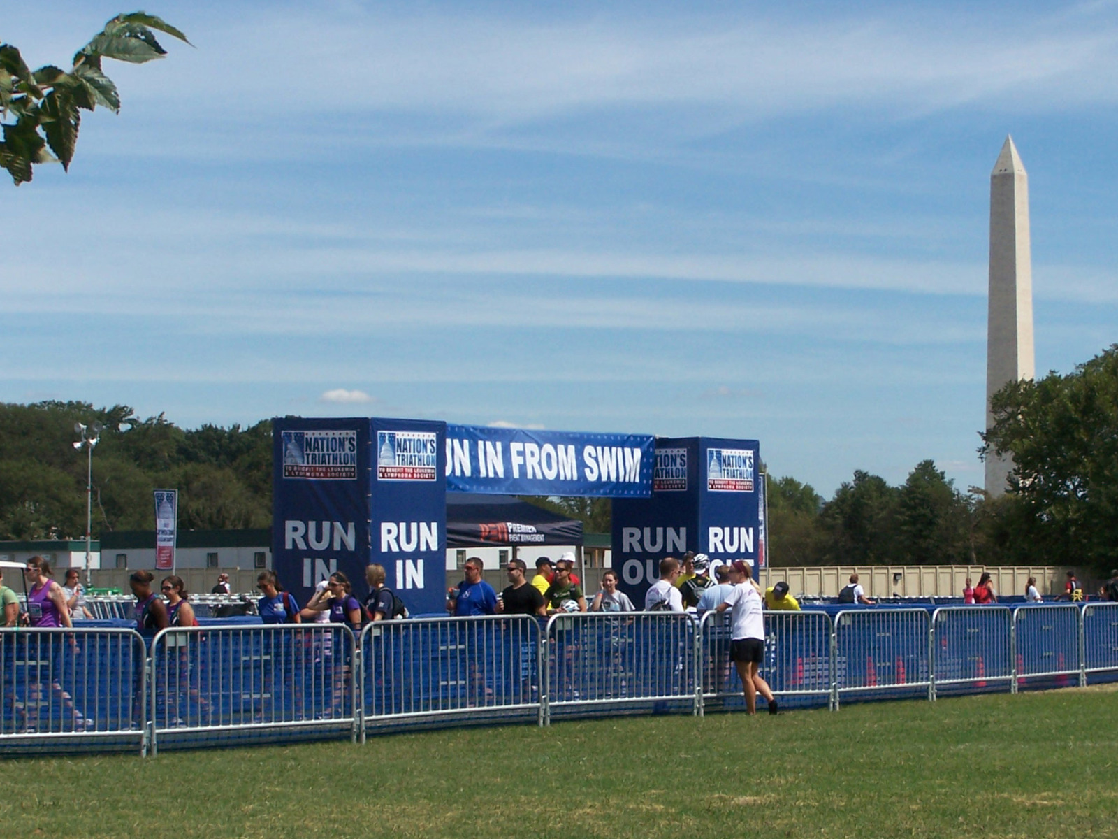 Nation's Triathlon Custom Banners and Barricades by SONCO