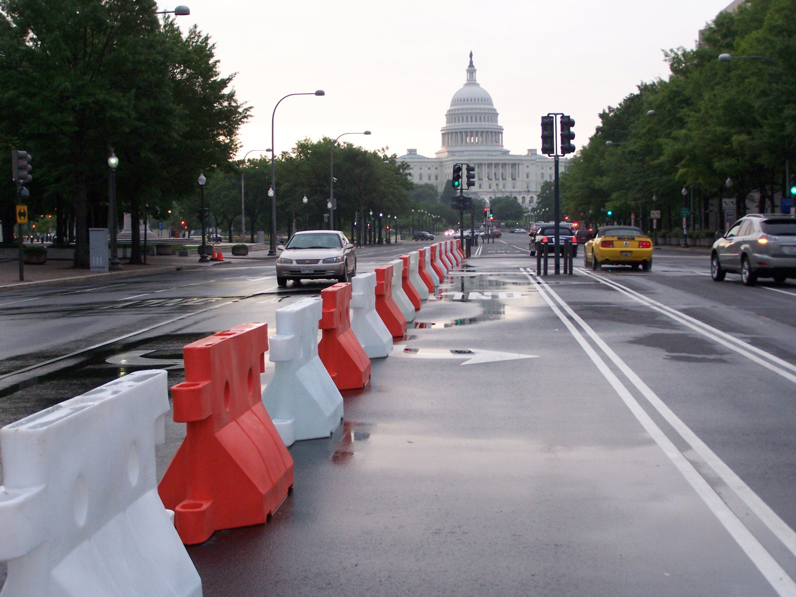 SONCO Water Barriers Channelize Event Traffic in Washington, DC